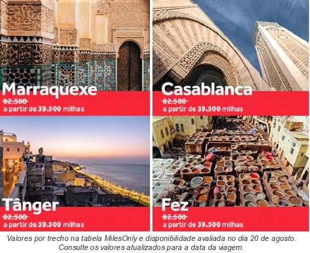 Opções de resgate para o Marrocos