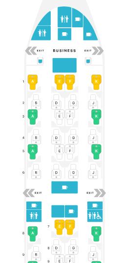 NÃO É CARO VIAJAR: Como é voar na Classe Executiva da Qatar - Qsuites.