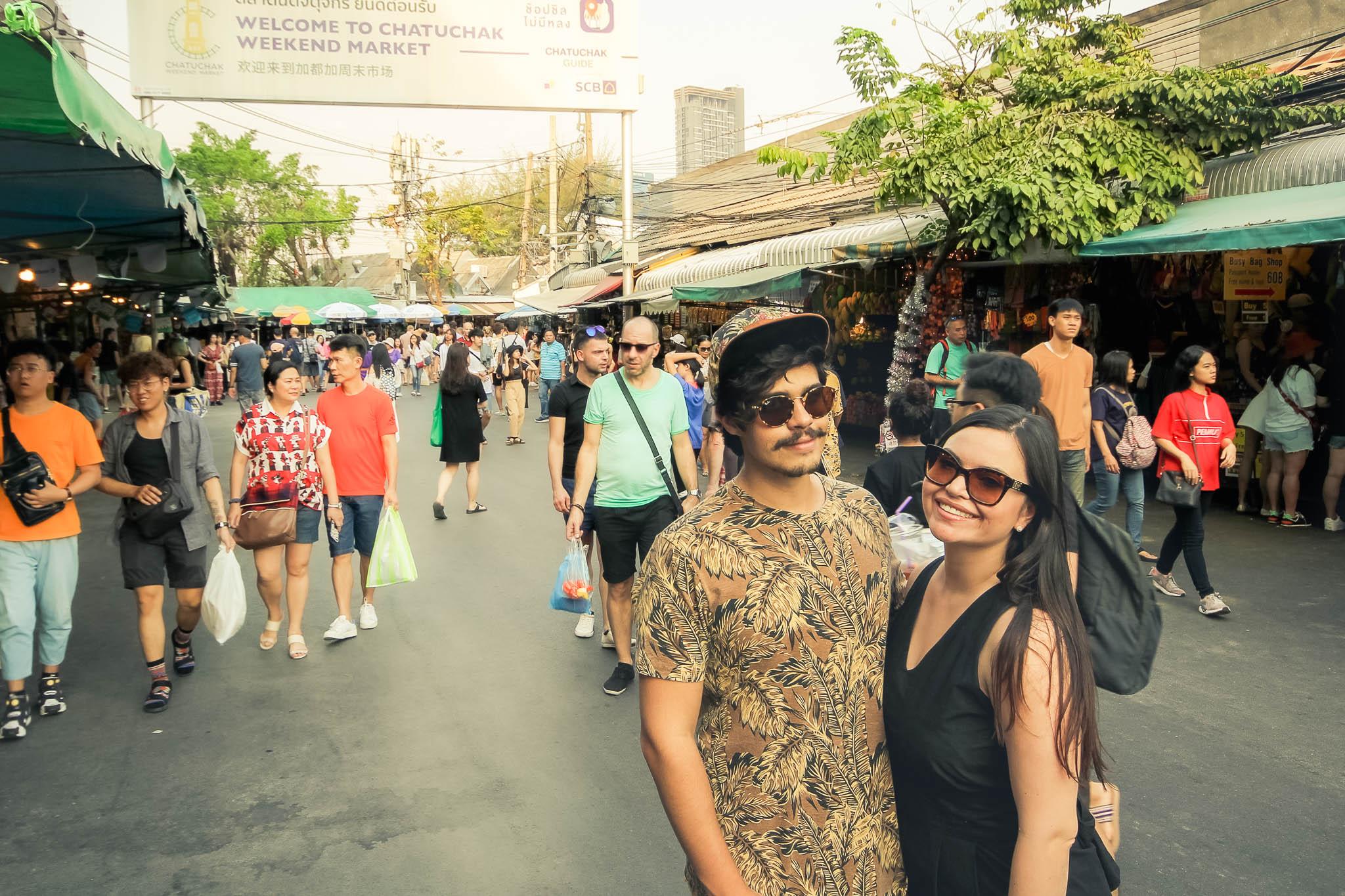 Chatuchak Market: Você precisa conhecer o MAIOR MERCADO de final de semana de Bangkok!